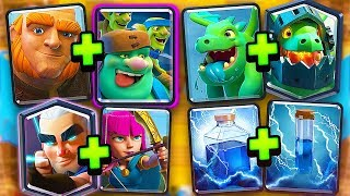 clash royale family member card pairs deck challenge
