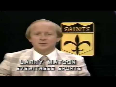 08/15/1981 Saints News, Larry Matson WWL-TV New Orleans