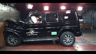 Краш-тест нового ГЕЛИКА  Mercedes G-CLASS - CRASH TEST 2019