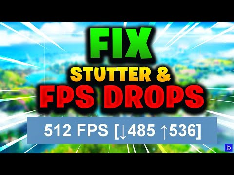 How To Fix FPS DROPS & STUTTER In Fortnite Under 4 Mins (*Works On Season 3)
