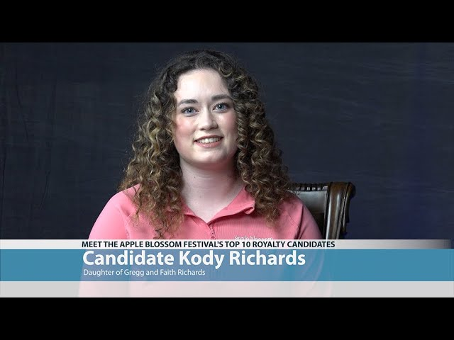 Apple Blossom Candidate Kody Richards