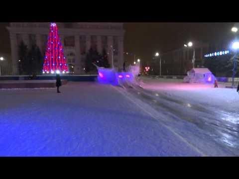 Декабрь в Кемерово погода +2 ледяной городок тает