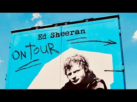 Ed Sheeran ÷ Divide Tour 2018 • Lighting Design, FoH Audio and PA Setup