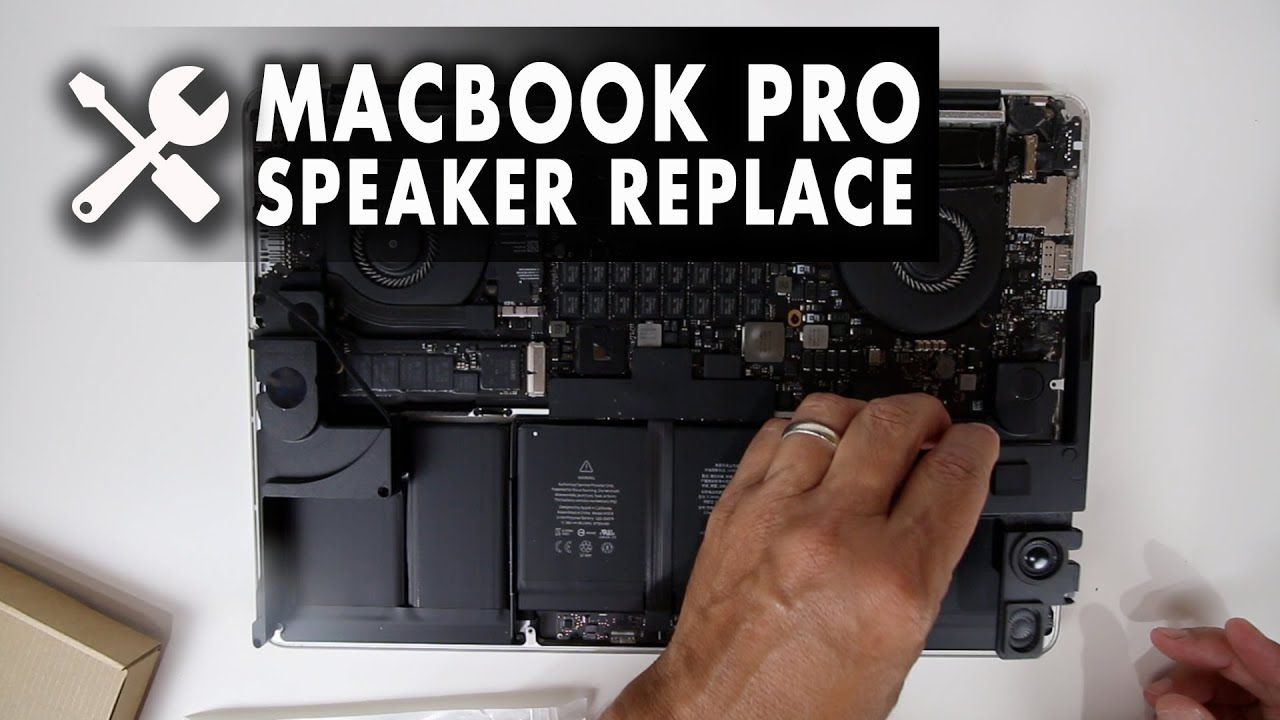 How To: Replace Speakers for a MacBook Pro Retina 10-inch, Mid 2010 Model  A10