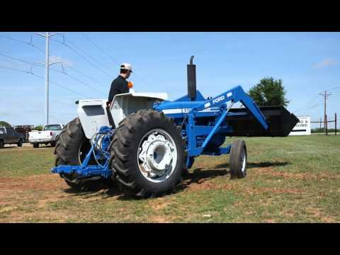 Demo Video of Ford 6600 Tractor with Loader