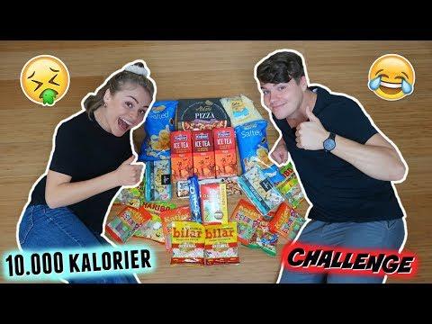 10.000 KALORIER CHALLENGE ft. Mika *bræk alert*