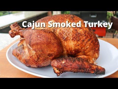 Cajun Smoked Turkey | Smoked Turkey Recipe on the Yoder Smoker