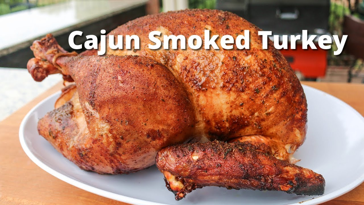 Cajun Smoked Turkey Smoked Turkey Recipe On The Yoder Smoker