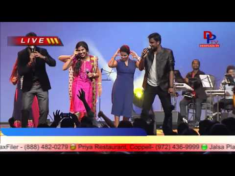 Lungi Dance song Performance By Singers at ATA Conference 2014