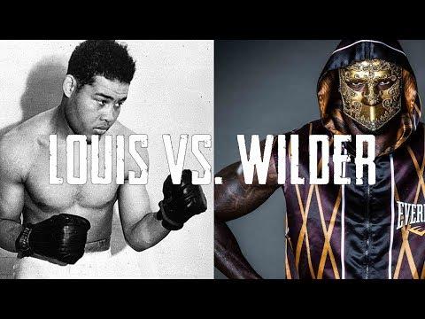 Joe Louis vs. Deontay Wilder - Who Would Win?