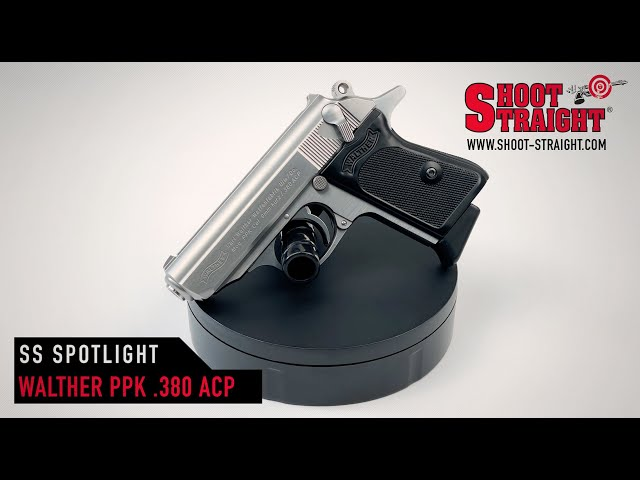 Walther PPK .380 ACP Stainless Pistol - Shoot Straight Spotlight