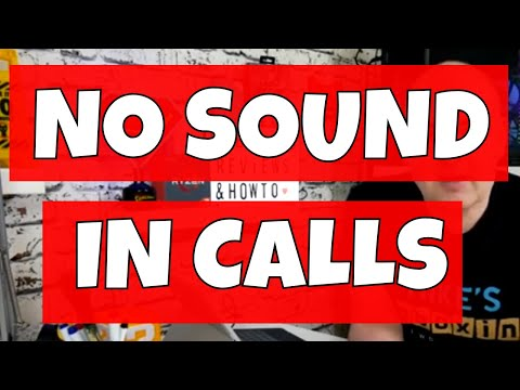 NO SOUND In Calls Fix Android 2019 - YouTube