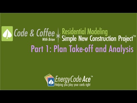 Code & Coffee: Residential Modeling – Simple New Construction Project
