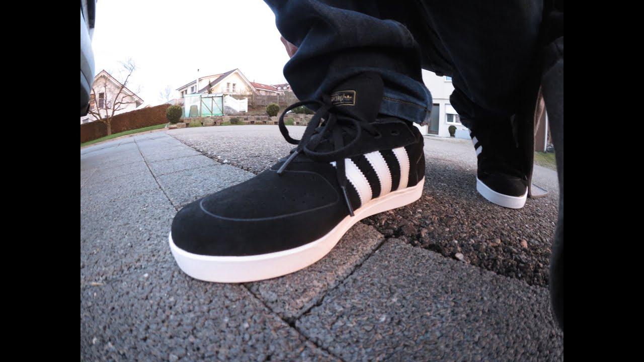 6b9f471b1a ADIDAS ADV Silas Baxter Neal - shoe test - first impressions - YouTube