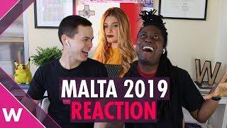 Malta | Eurovision 2019 REACTION video | Michela