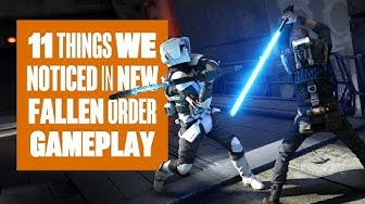 11 Things We Noticed In New Star Wars Jedi: Fallen Order gameplay