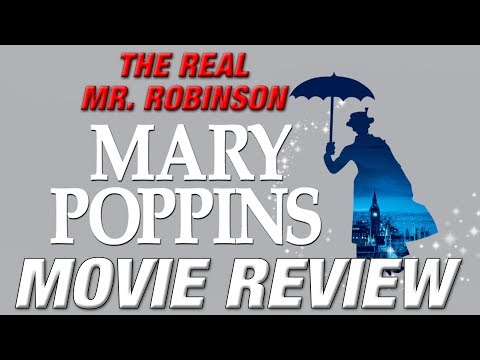 MARY POPPINS (1964) Retro Movie Review