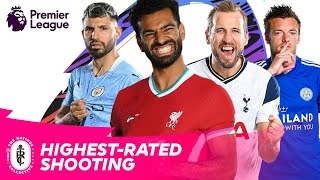 HIGHEST-RATED Premier League players at shooting in FIFA 21 | AD