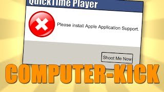 Please Install Apple Application Support - iTunes and QuickTime Fix