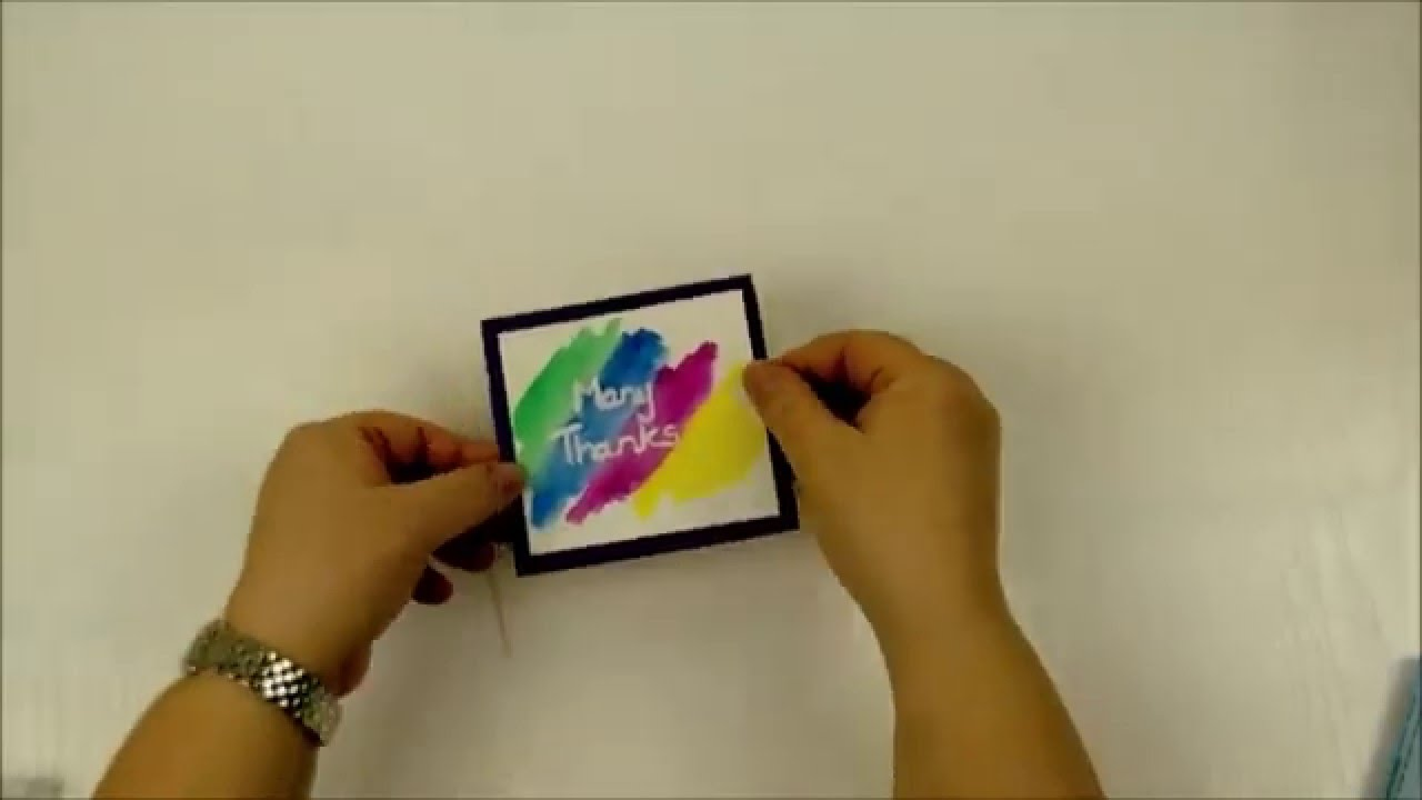 Kid Made Thank You Cards Youtube