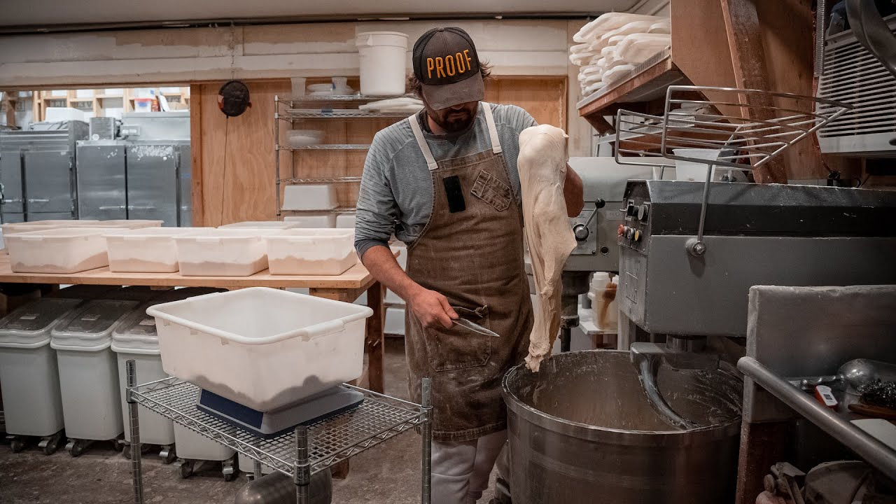 Mixing and Scaling Sourdough | Proof Bread