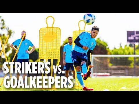 Strikers versus Goalkeepers | PRESEASON 2018