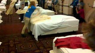 Christine (bed Making Contest)