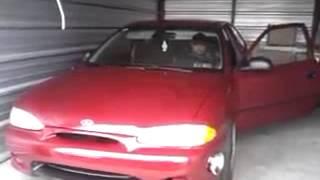 Hyundai Accent 1999 aceleracion