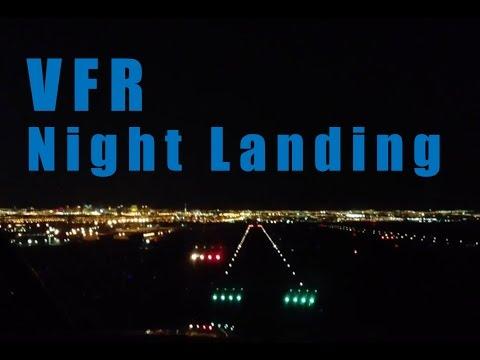 Landing in Henderson Nevada at Night