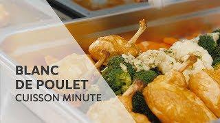 Blanc de poulet juteux I cuisson minute dans le SelfCookingCenter® RATIONAL