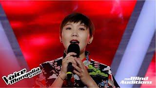 "Khishigduuren.G - ""Joyful Joyful"" | Blind Audition | The Voice of Mongolia S2"