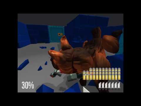 GET ???????'s: Super Wolfenstein 3D game play |