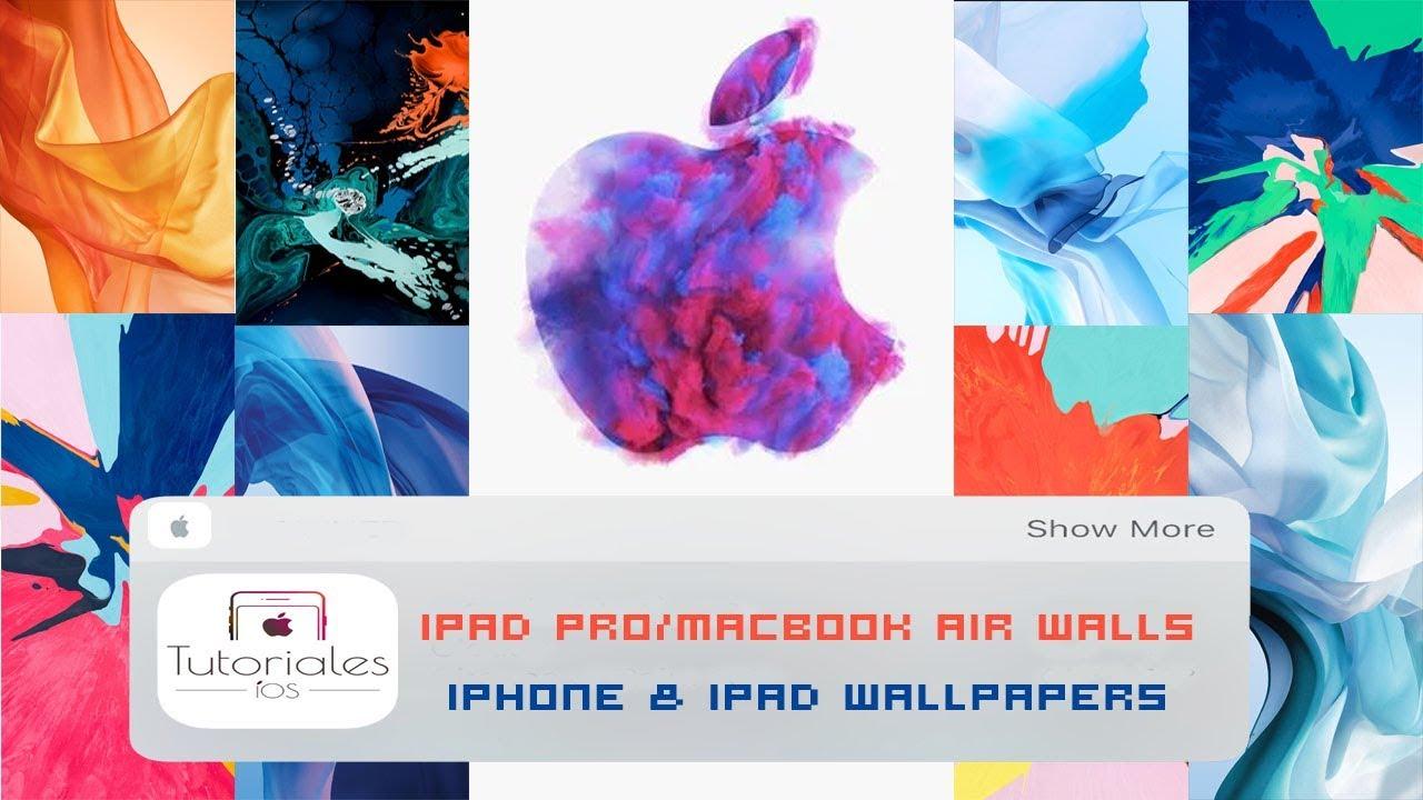Descarga Los Wallpapers Fondo De Pantalla Del Nuevo Ipad Pro Y Macbook Air 2018