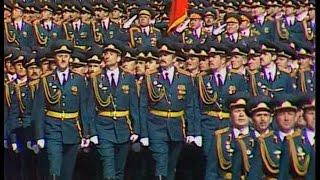 HD Soviet Army Parade, Victory Day 1990 Парад Победы