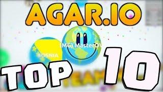 MasterOv's Top Ten Agar.io Moments! (.io Games)