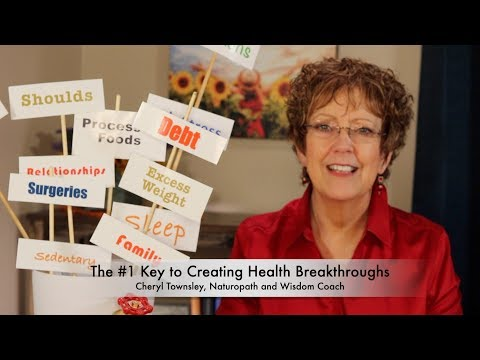 The #1 Key to Creating Health Breakthroughs!
