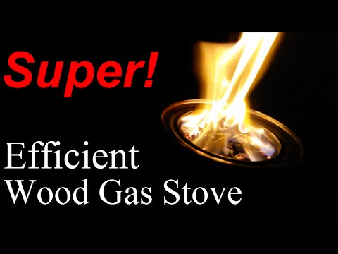 How To Build a Most Efficient Wood Gas Stove Design Ideas Free Diy ...