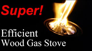 How To Build A Most Efficient Wood Gas Stove Design Ideas Free Diy Camp Backpacking Plans