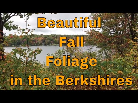 Beautiful Fall Foliage a must see this video ! Fall leaves so colorful in the Berkshires of Ma.