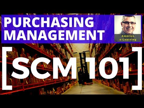 Lesson 2 - Supply Chain and Purchasing Management