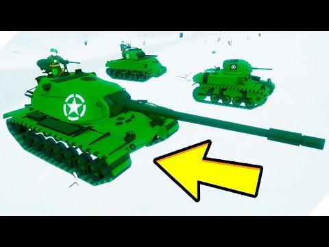 Угарные БИТВЫ ТАНКОВ! - Total Tank Simulator