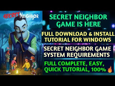 How to Download & Install Secret Neighbor Game on PC for FREE in Hindi Without Errors🔥[100%Works]