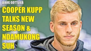 Rams Wide Receiver Cooper Kupp Talks Ndamukong Suh & Season Expectaions