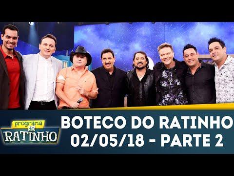 Boteco Do Ratinho - Parte 2 | Programa Do Ratinho (02/05/18)