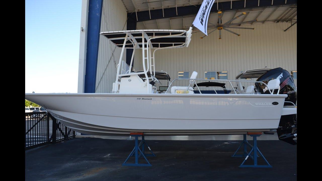 2018 Boston Whaler 210 Montauk 60th Anniversary Model For Sale at MarineMax  Naples Yacht Center