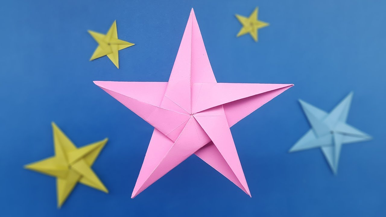 How To Make Origami Star