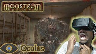 HE WAS CORNER CAMPING!!! | Monstrum Oculus Rift DK2