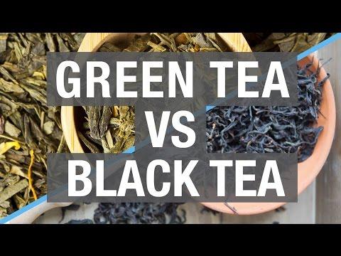 Green Tea VS Black Tea