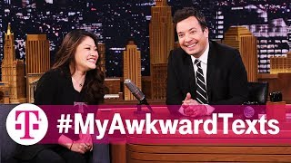 Jimmy Fallon Reads #MyAwkwardTexts: Wrong Number Edition | T-Mobile