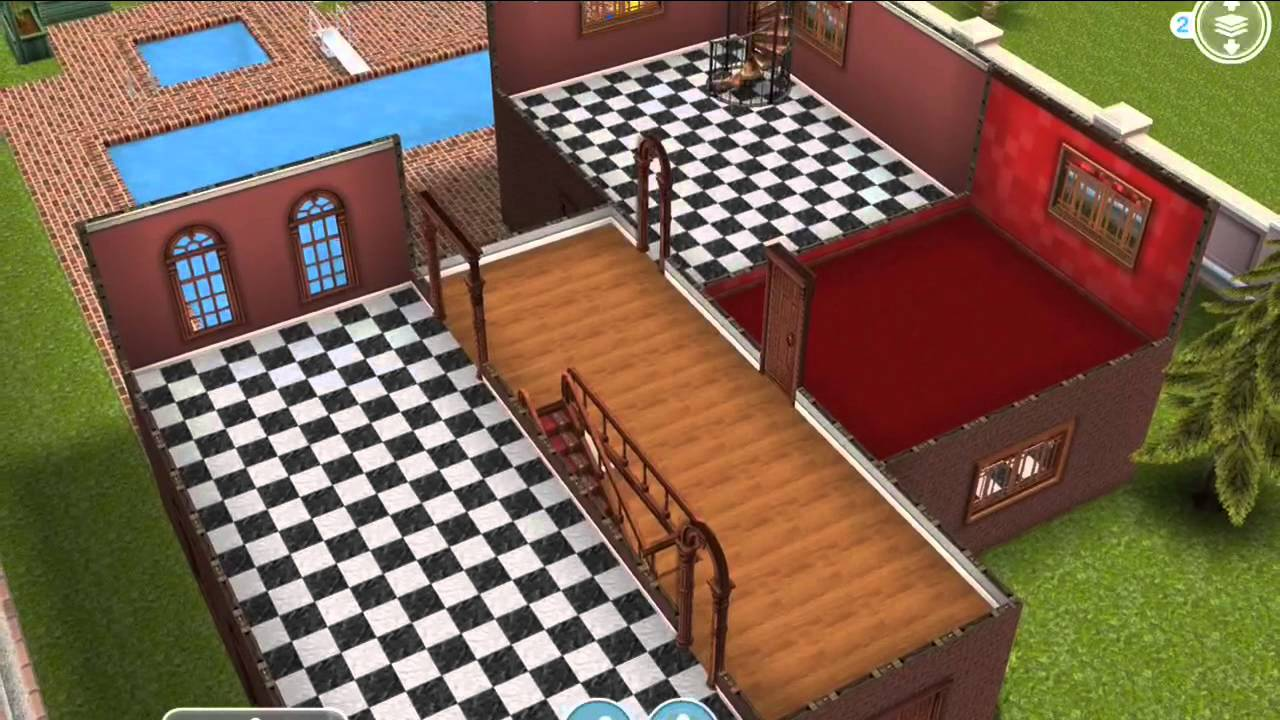 three story unfurnished house sims freeplay youtube